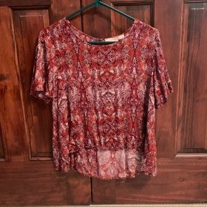 Forever-21 Low-High Shirt